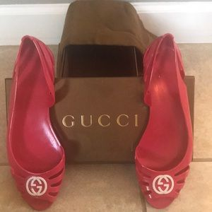 Gucci Jellie Shoes